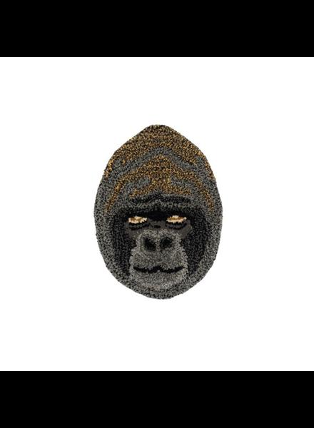 Doinggoods Groovy Gorilla Head Rug
