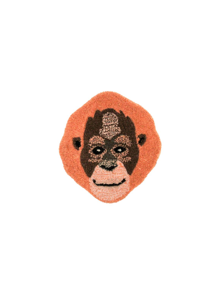 Doinggoods Oddly Orang Utan Head Rug