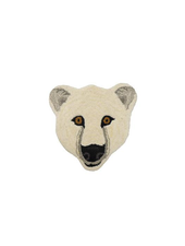 Doinggoods Kasbah Polar bear Head Rug