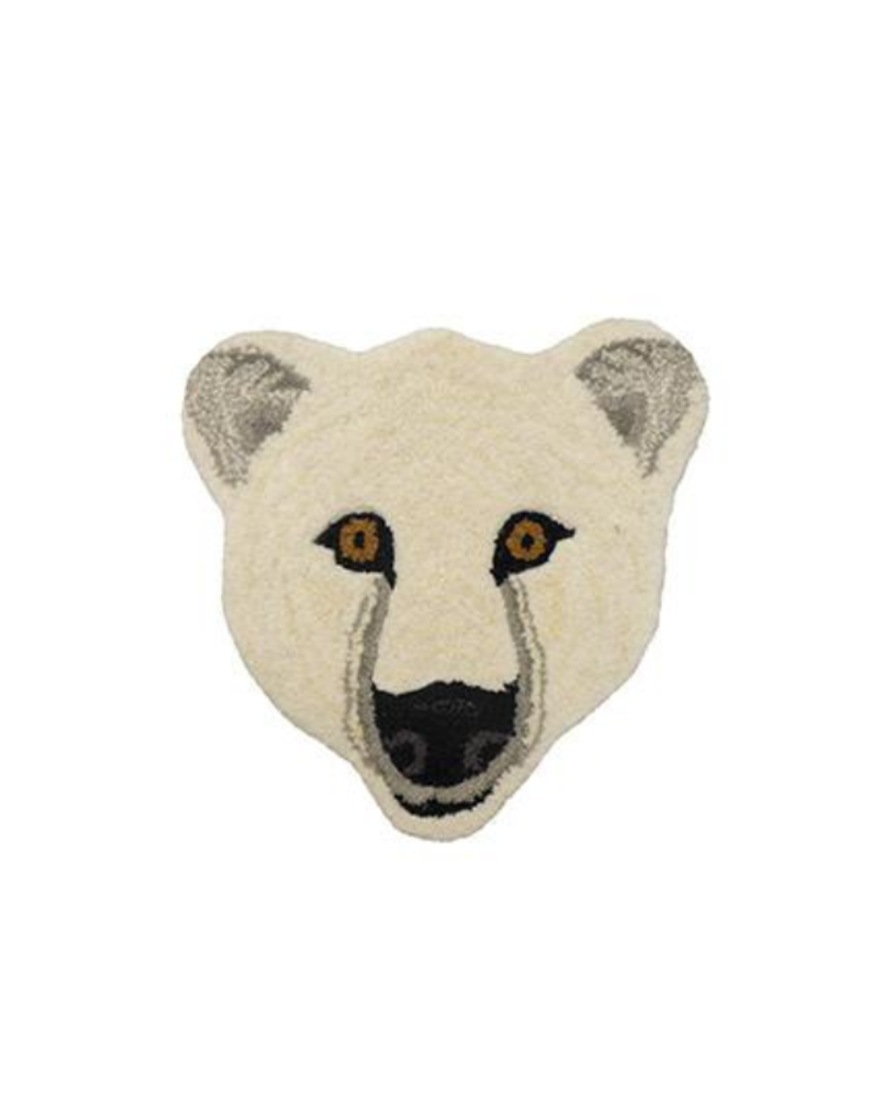Doinggoods Doinggoods Kasbah Polar bear Head Rug