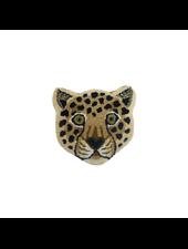 Doinggoods Loony Leopard Head rug