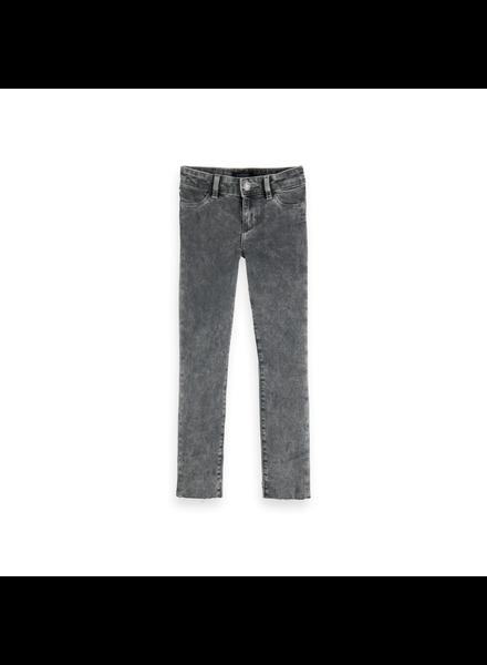Scotch & Soda La Milou cropped jeans - Grijs