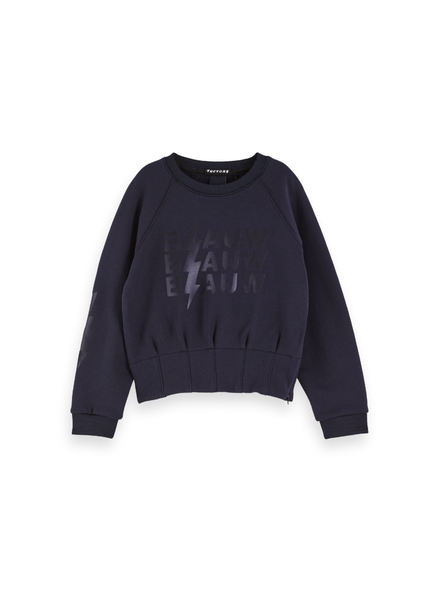 Scotch & Soda Crewneck sweat  special waist detail