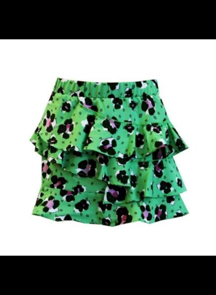 Ai&Ko Torgina leopard skirt