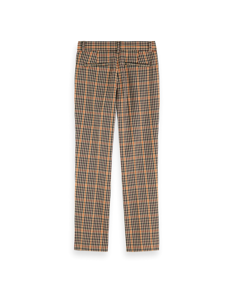Scotch Rebelle Scotch Rebelle Slim fit tailored pants yarn dyed