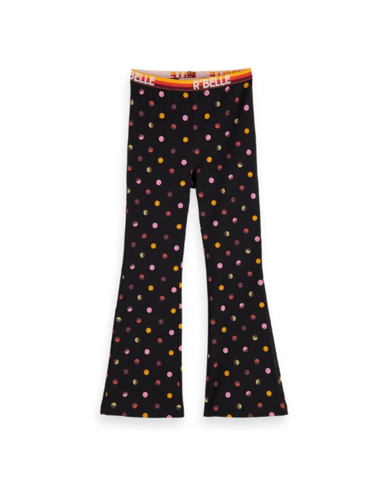 Scotch & Soda Scotch Rebelle Flare leggings elastic waistband