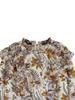 Scotch & Soda Scotch Rebelle Floral allover printed top ruffle details