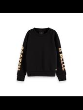 Scotch & Soda Shorter length sweater artworks