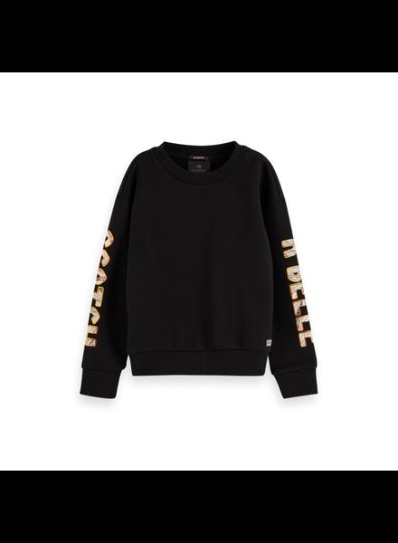 Scotch Rebelle Shorter length sweater artworks