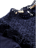 Scotch Rebelle Scotch Rebelle Shorts. jersey broderie anglaise mixed top