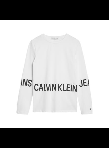 Calvin Klein Stretch logo ls T-shirt
