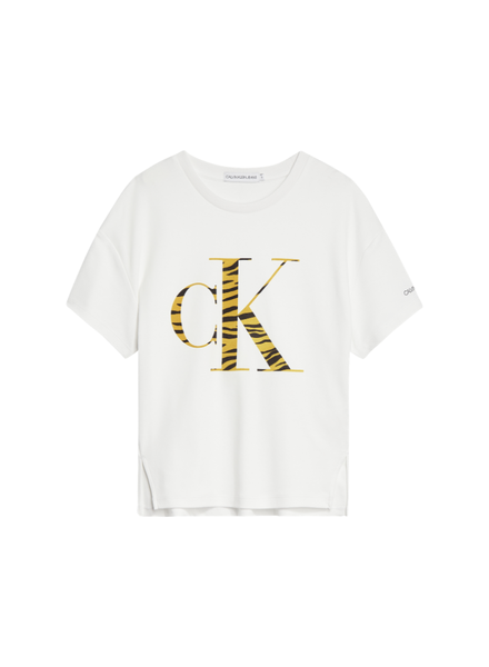 Calvin Klein Urbal animal CK floc t-shirt