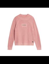 Calvin Klein Oco mock neck boxy sweater Roze