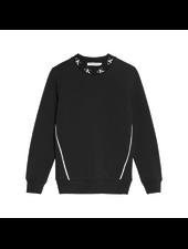 Calvin Klein Monogram stretch sweater Zwart