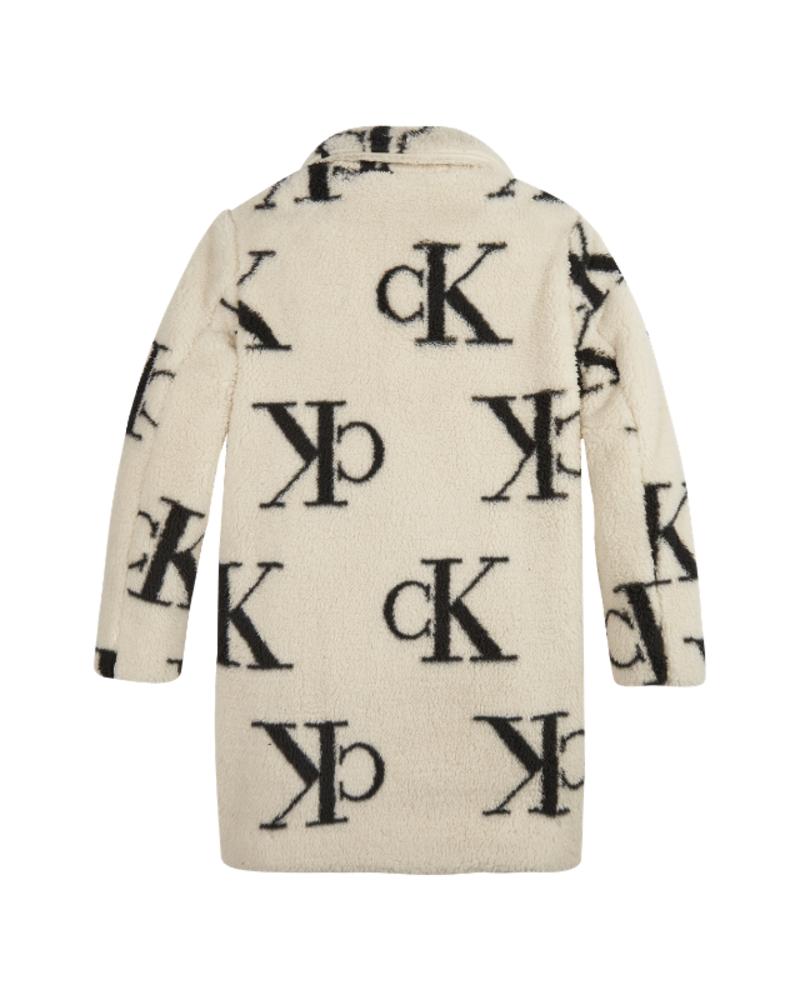 Calvin Klein Calvin Klein Ck aop teddy coat