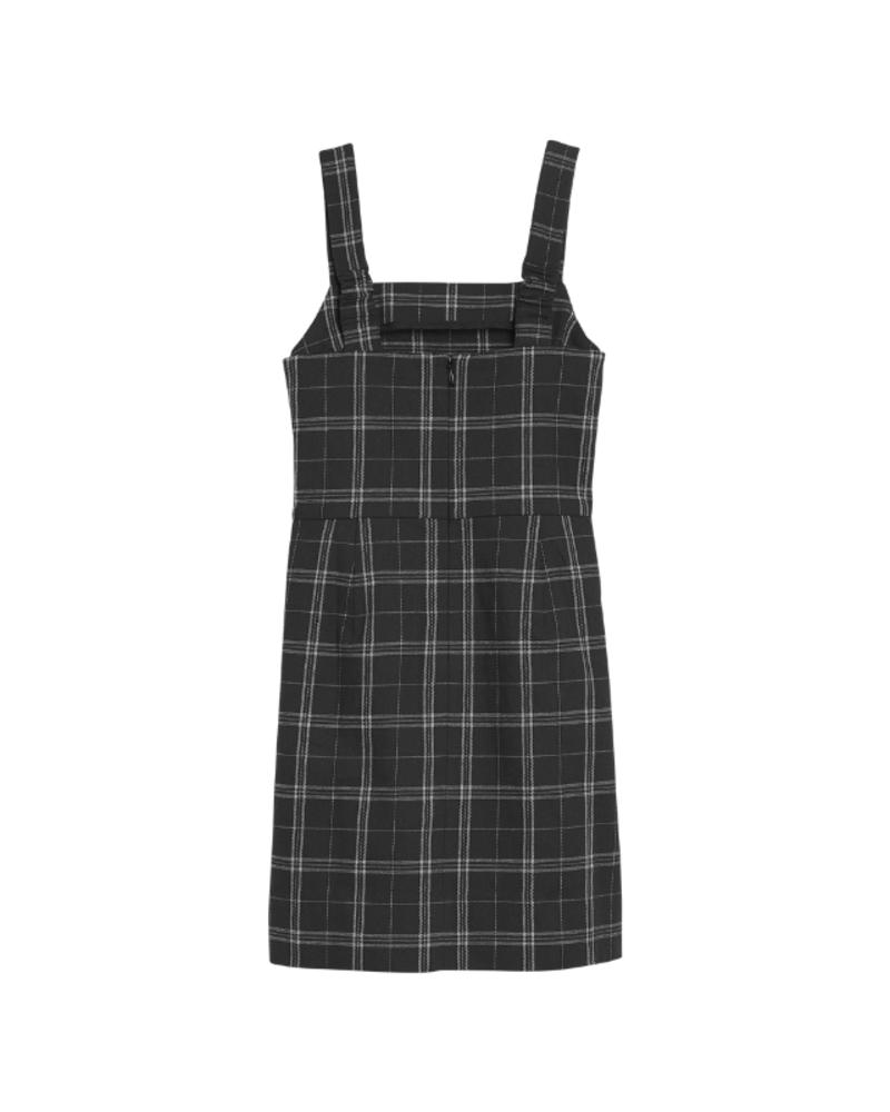 Calvin Klein Calvin Klein Check pinafore dress