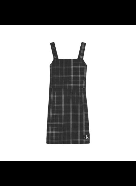 Calvin Klein Check pinafore dress
