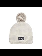 Calvin Klein Logo glitter beanie
