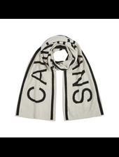 Calvin Klein Institutional logo scarf