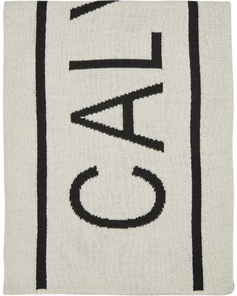 Calvin Klein Calvin Klein Institutional  logo scarf