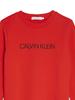 Calvin Klein Calvin Klein institutional logo sweater Rood