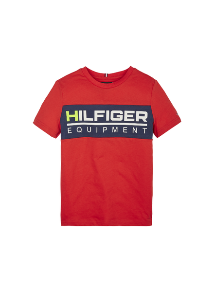 Tommy Hilfiger TH panel t-shirt