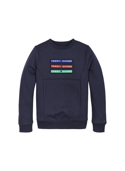 Tommy Hilfiger badge velcro sweat