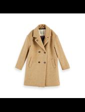 Scotch & Soda Oversized double breasted wool coat