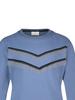 Ai&Ko Ai&Ko Blizz fancy sweater blauw 128