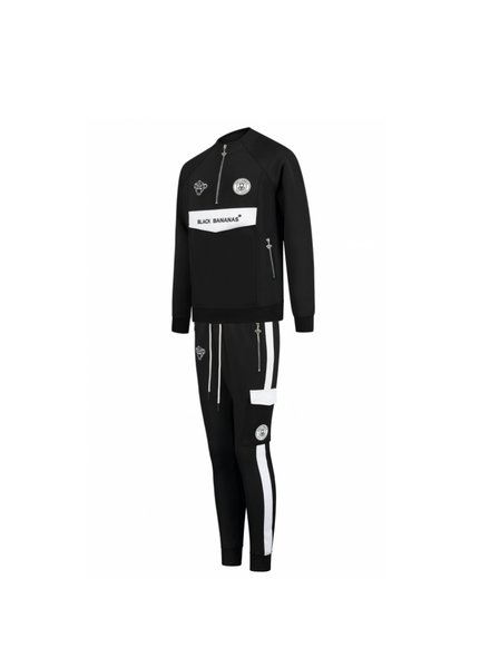 Black Bananas High Collar Tracksuit Z