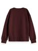 Scotch & Soda Scotch Rebelle Org. cotton sweater velvet applic.