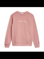 Calvin Klein Metallic logo sweater
