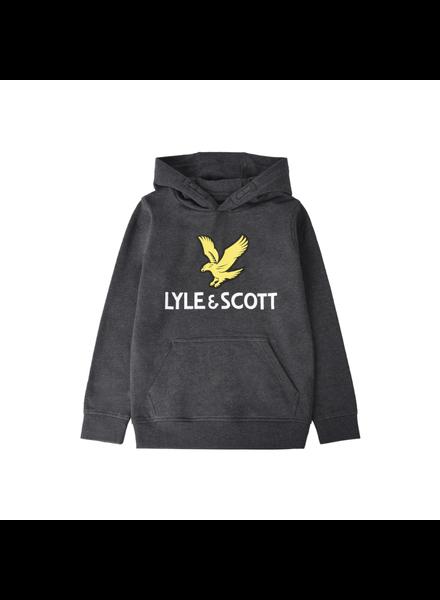 Lyle en Scott Lyle Eagle Logo LB OTH Hoodie Grijs