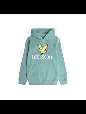 Lyle en Scott Lyle Eagle Logo LB OTH Hoodie Groen