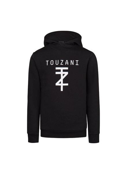 Touzani TZ-Hoodie Jr. - Black / White