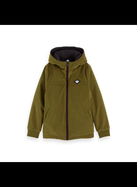 Scotch Shrunk Blauw reversible jacket