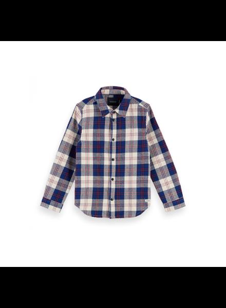 Scotch Shrunk Easy shirt in flannel check