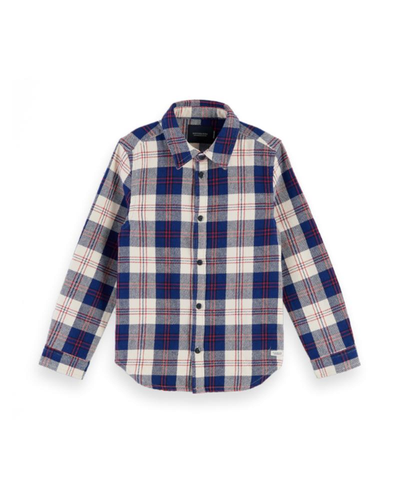 Scotch & Soda Scotch Shrunk Easy shirt in flannel check