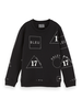 Scotch & Soda Scotch Shrunk All over printed crewneck sweat
