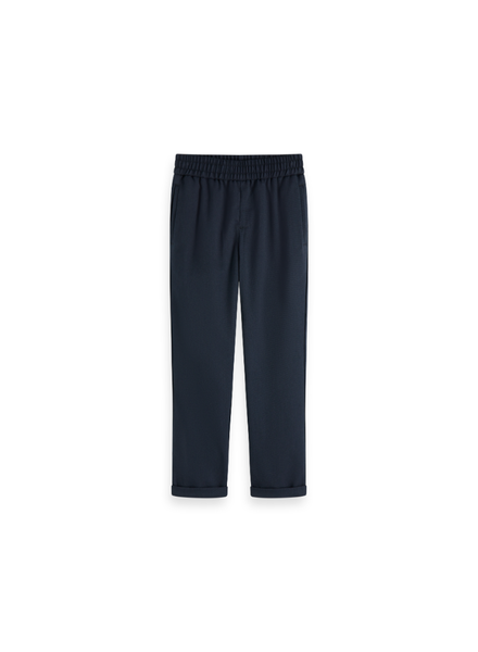 Scotch & Soda Relaxed slim fit dressed pant waistband