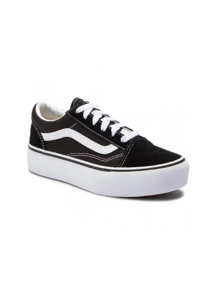 Vans UY Old Skool Platfor Black/True W