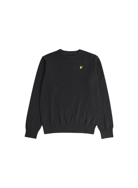 Lyle en Scott Crew neck cotton merino mix jumper