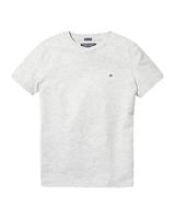Tommy Hilfiger Boys basic cn KNIT t-shirts grijs