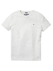 Tommy Hilfiger Tommy Hilfiger Boys basic cn KNIT t-shirts grijs
