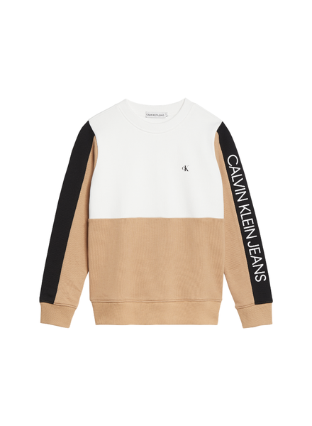 Calvin Klein Colourblock logo sweater