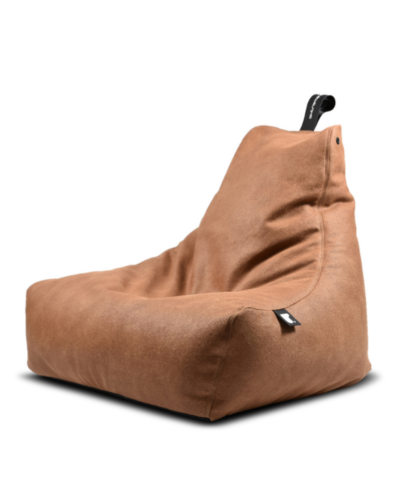 Extreme Lounging Extreme Lounging b-bag mighty-b Indoor Lederlook Tan
