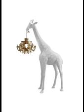 Qeeboo Qeeboo Giraffe in Love XS lamp - White