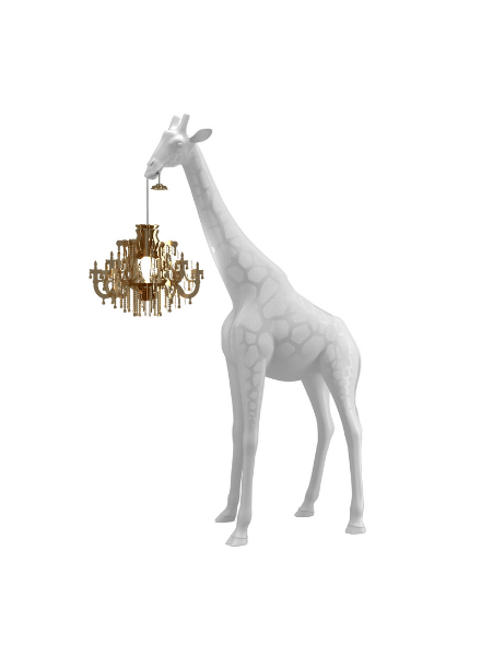 Qeeboo Qeeboo Giraffe in Love XS lamp - White