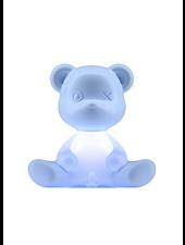 Qeeboo Qeeboo Teddy Boy lamp indoor plug - Light Blue
