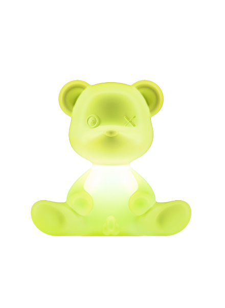 Qeeboo Qeeboo Teddy Boy lamp indoor plug - Light Green